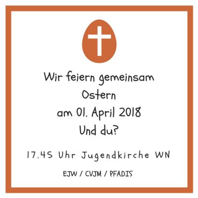 Ostergottesdienst 2018