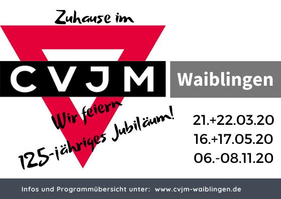125 Jahre CVJM Waiblingen